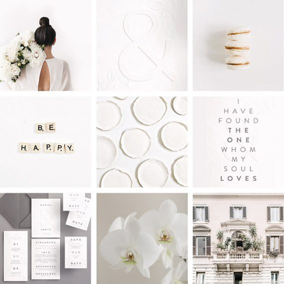 Helles Moodboard von Made with Love