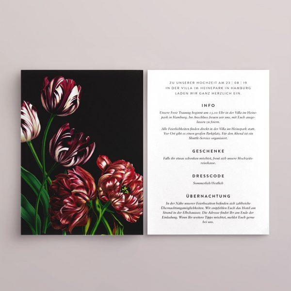 Einladungskarte Design Karla