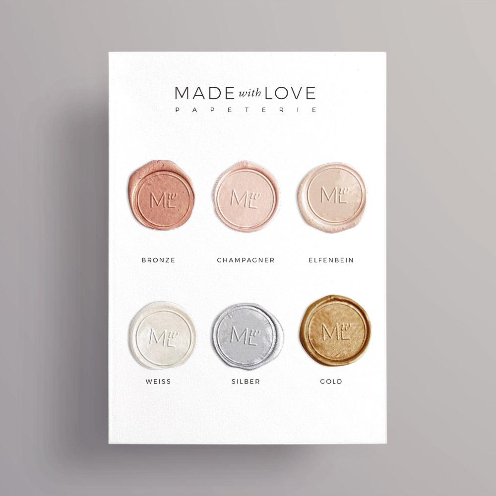 Farbwahl über Musterkarte von Made with Love